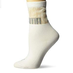 Puma Selena Gomez Transparent Socks